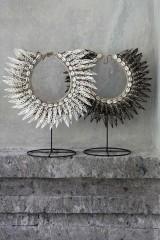 Metal stativ til shells